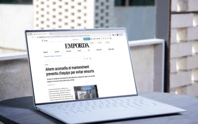 Diario «Empordà» – «Aiterm aconseja el mantenimiento preventivo de equipos para evitar sustos»