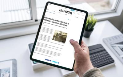 Diario «Empordà» – «Aiterm explica la importancia de la ventilación en las cocinas industriales»