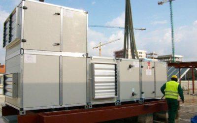 Grandes instalaciones con gran maquinaria